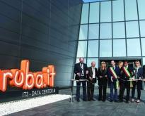 Inaugurazione Aruba Global Cloud Data Center, taglio del nastro