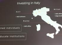 Aws Summit 2019 - Gli investimenti in Italia