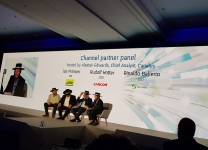 Canalys Channels Forum 2018, Barcellona - Channel partner panel