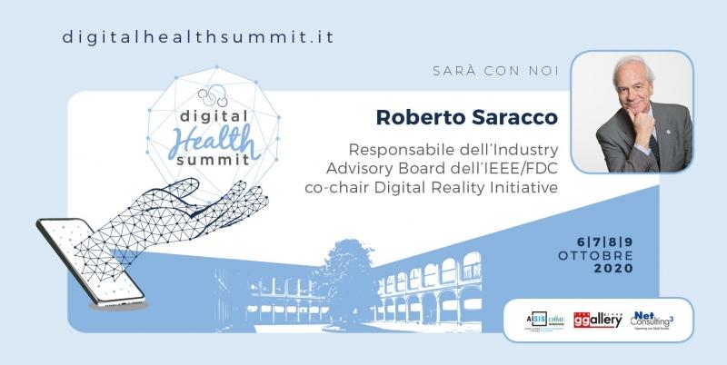 Roberto Saracco, Responsabile dell'Industry Advisory Board dell'IEEE/FDC co-chain Digital Reality Initiative