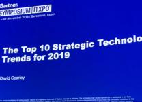 Gartner Symposium/ITxpo 2018, Barcellona - David Cearley, VP & Gartner Fellow - The Top 10 Strategic Technology trends for 2019