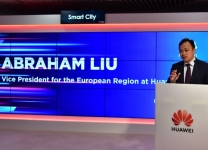 Abraham Liu, vice president for the european region di Huawei