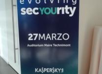 Kaspersky Lab - Evolving SecYOUrity, Milano 27 marzo 2019