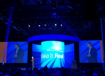 Pat Gelsinger, ceo di VMware al Dell Technologies World 2018 a Las Vegas