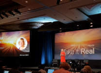 Joyce Mullen, President, Global Channel, OEM and IOT Solutions di Dell EMC al Dell Technologies World 2018 a Las Vegas