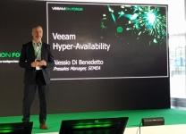 VeeamOnForum 2018 - Alessio Di Benedetto, Presales manager SEMEA di Veeam