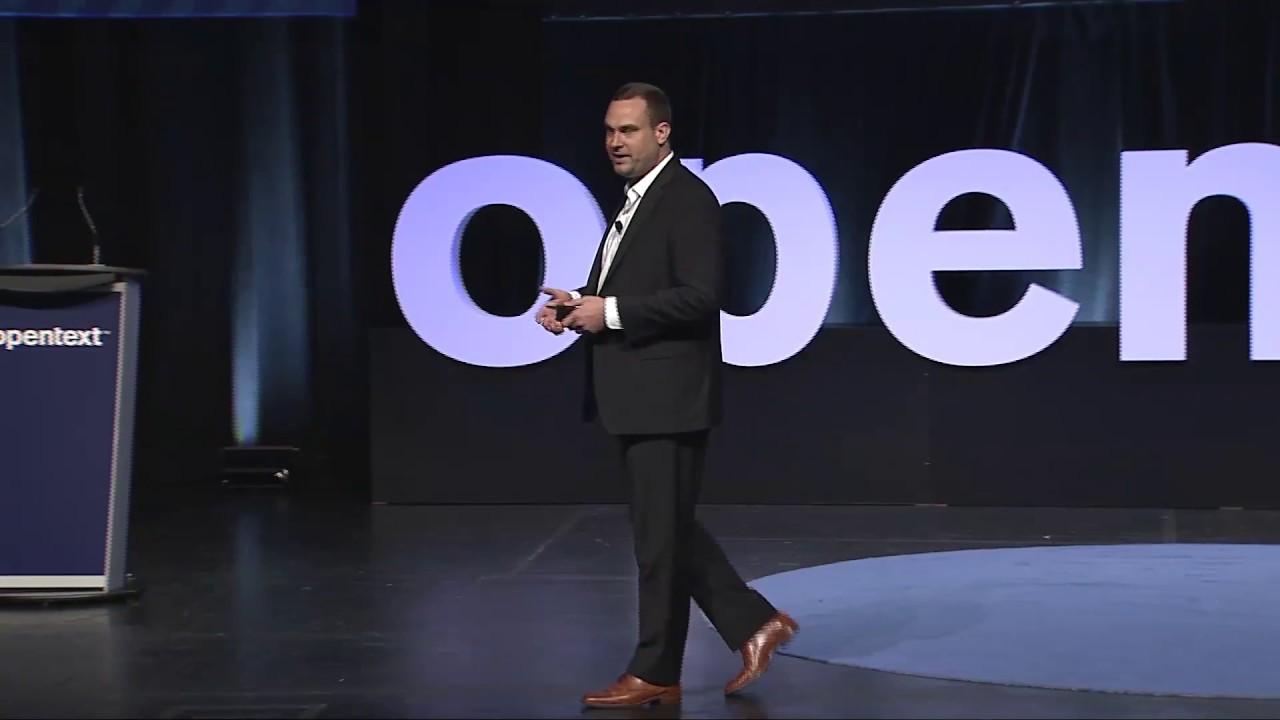 Adam Howatson, CMO di OpenText