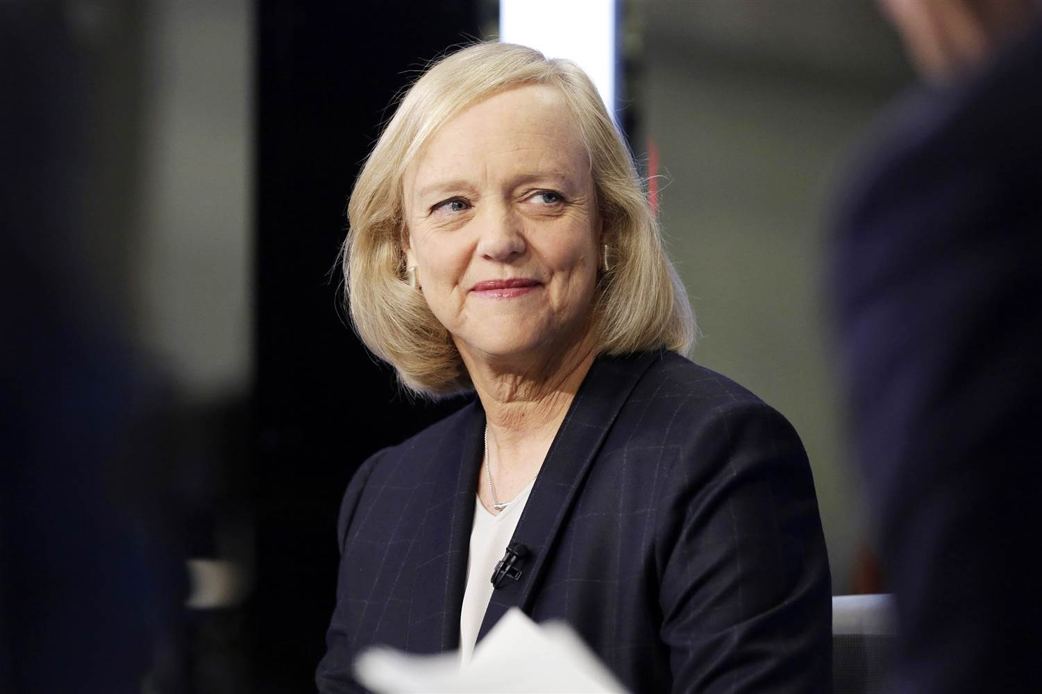Meg Whitman, Ceo uscente di HPE