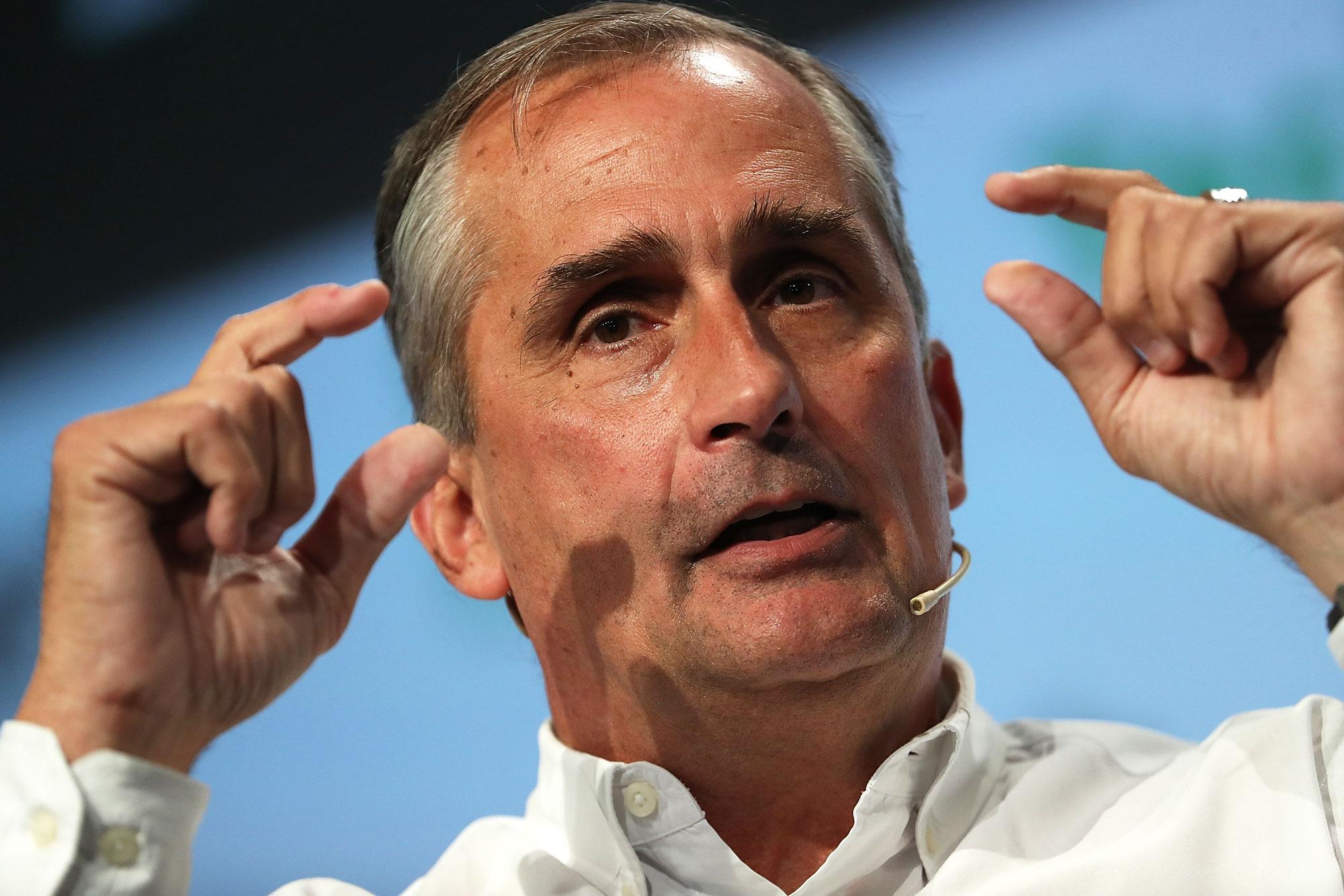 Brian Krzanich,Amministratore Delegato di Intel