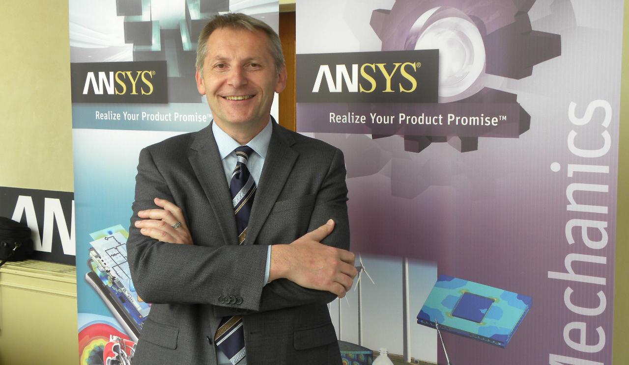 Carlo Gomarasca, Managing Director di Ansys