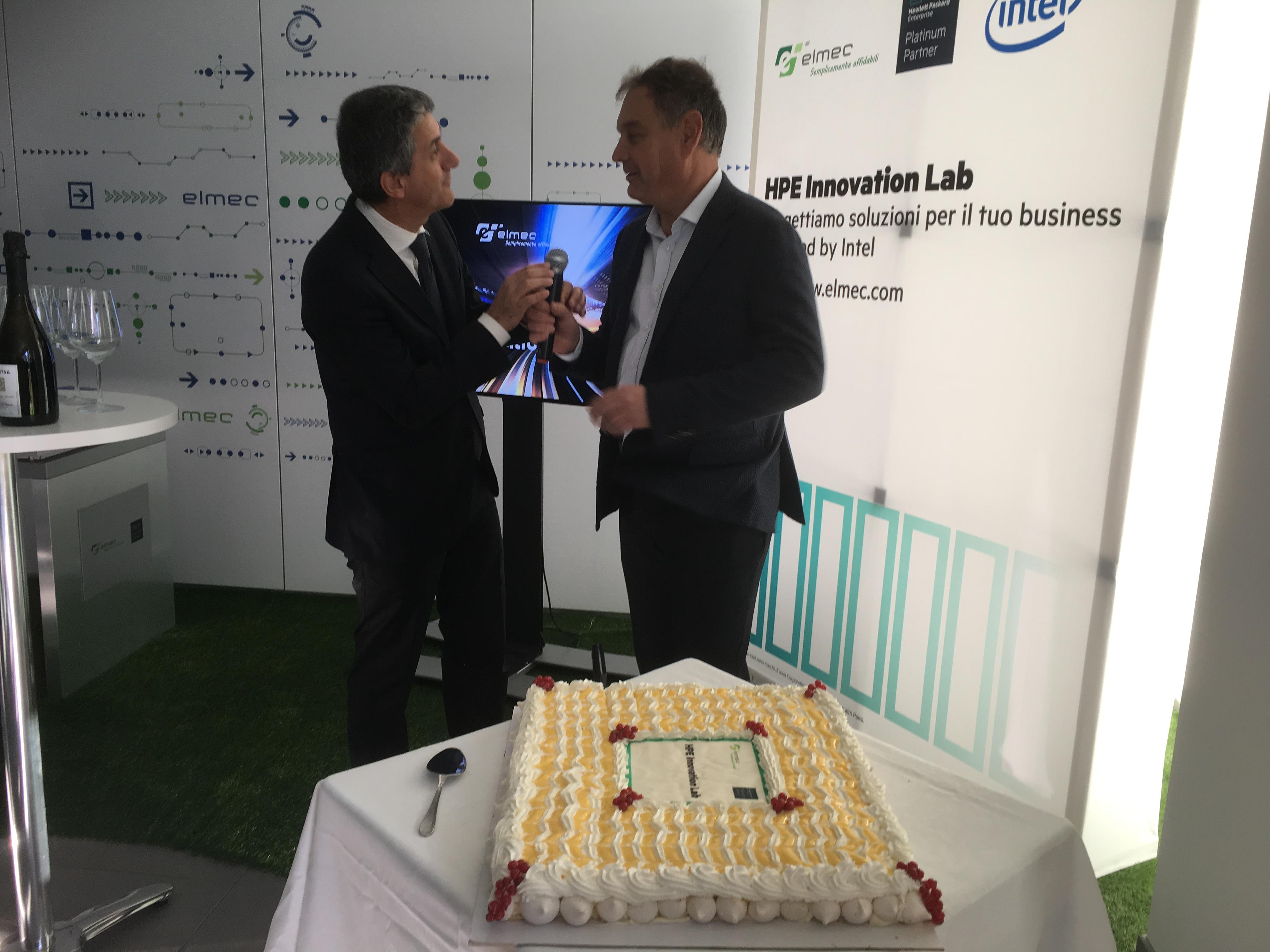 HPE Elmec - Stefano Venturi, Vice Presidente e Amministratore Delegato Gruppo Hewlett Packard Enterprise in Italia, all'inaugurazione di HPE Innovation Lab