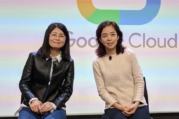 Jia Li, Head of R&D, e Fei-Fei Li, Chief Scientist, responsabili team Cloud AI