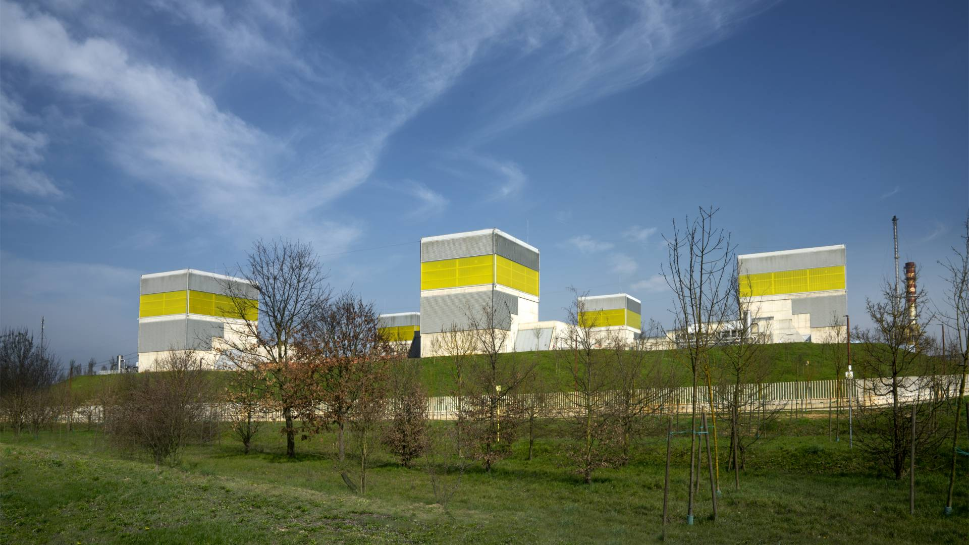 Green Data Center di Eni a Ferrara Erbognone