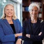 Le co-presidenti del WEF di Davos