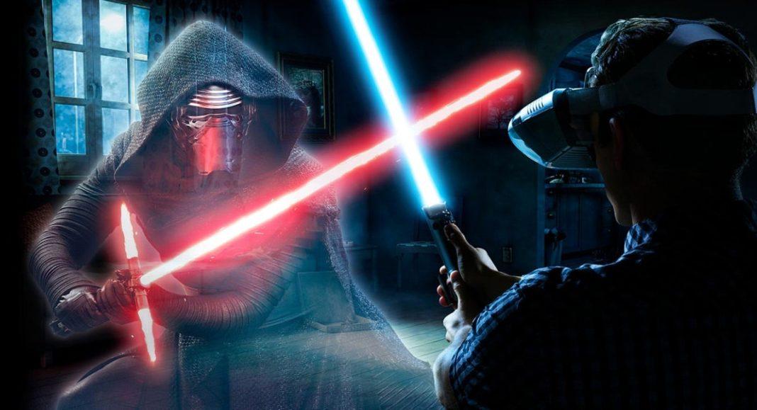 Star Wars™: Jedi Challenges con il visore Lenovo Mirage AR e il controller per la spada laser