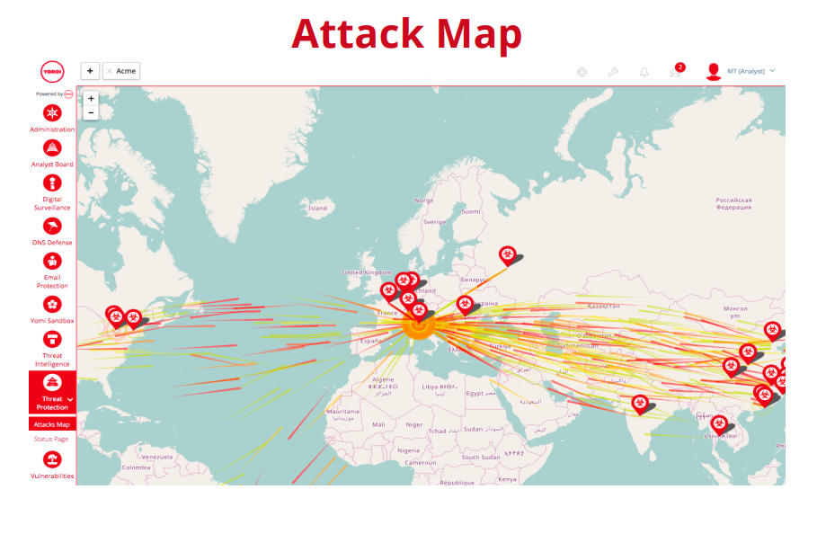 Attack Map