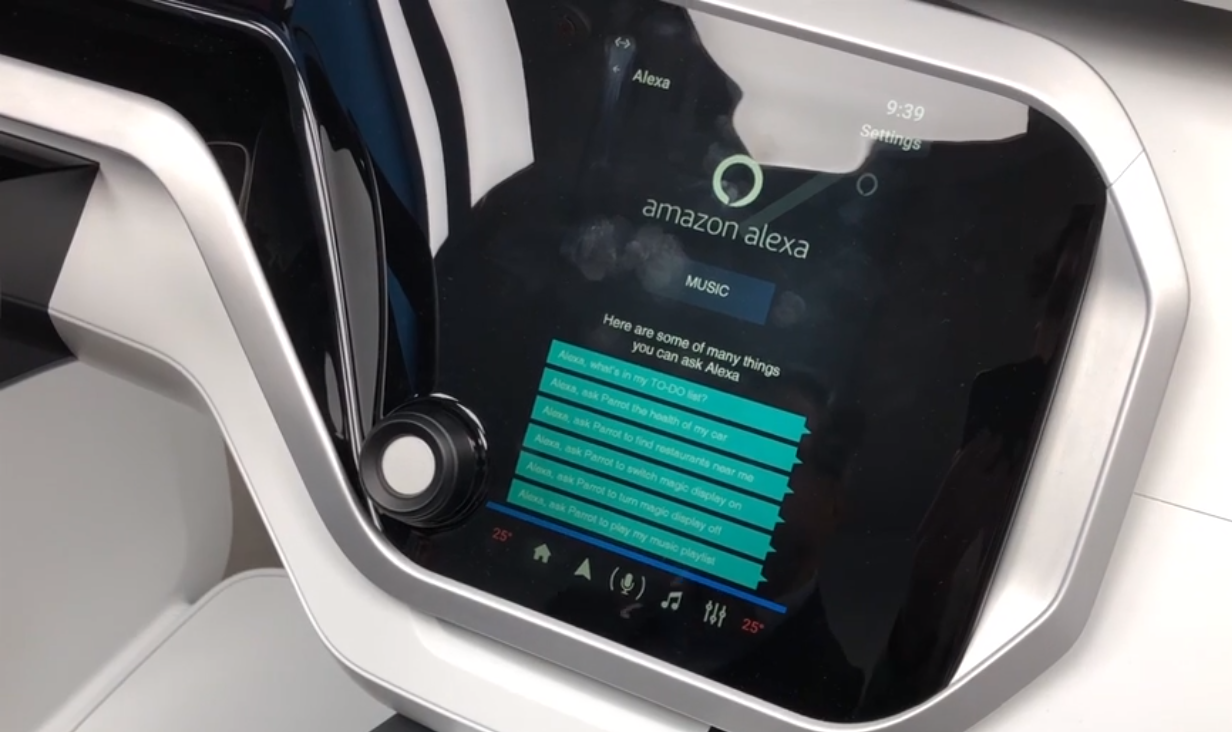 Alexa in auto