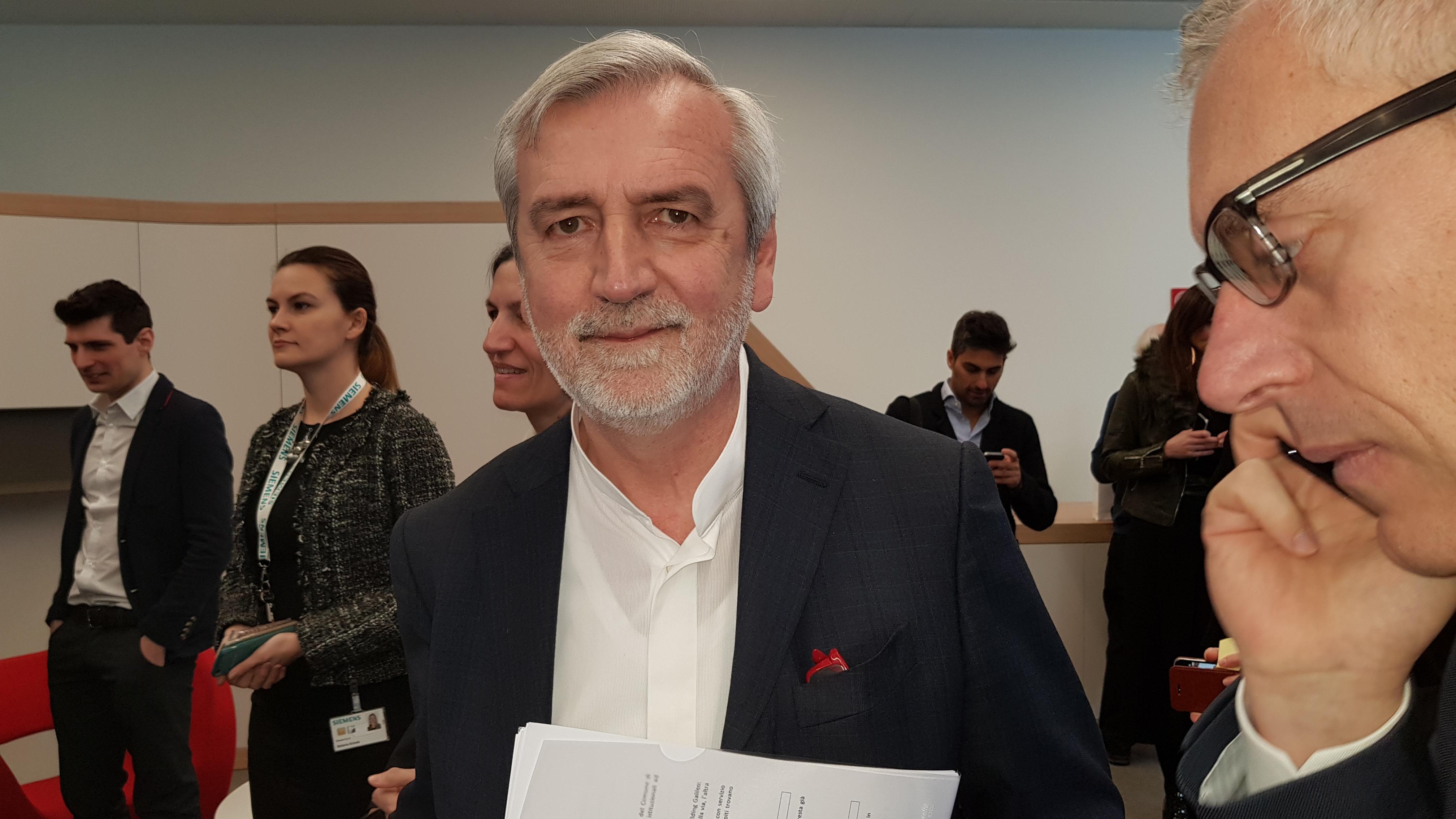 Federico Golla, CEO di Siemens