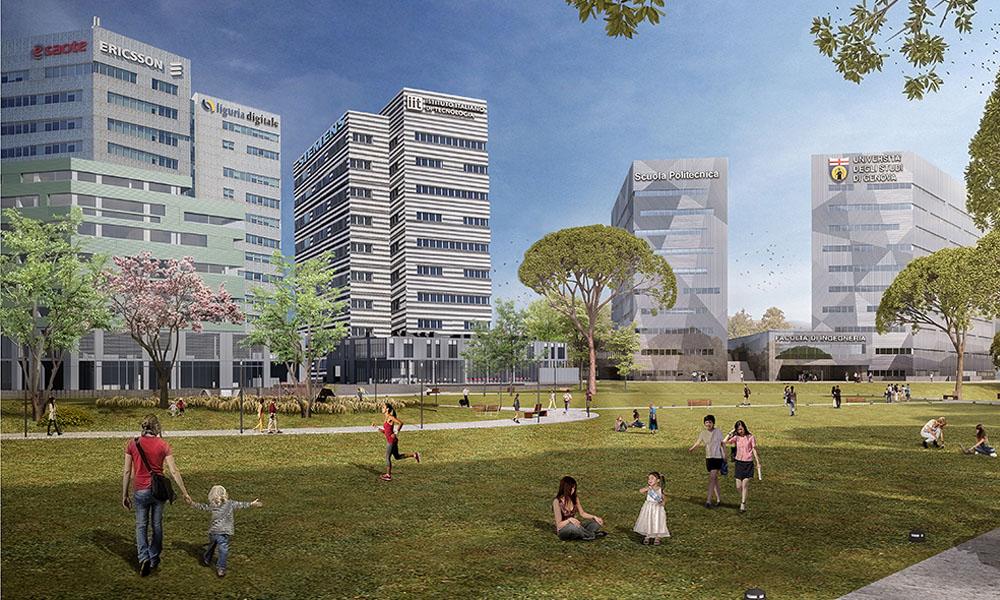 GREAT Campus: Parco Scientifico e Tecnologico di Genova - Erzelli