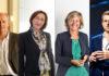 Stuart Russel, Professore di Berkeley - Luisa Arienti, Amministratore Delegato di SAP Italia - Silvia Candiani, Amministratore Delegato di Microsoft Italia - Carlo Ratti, Professore del MIT