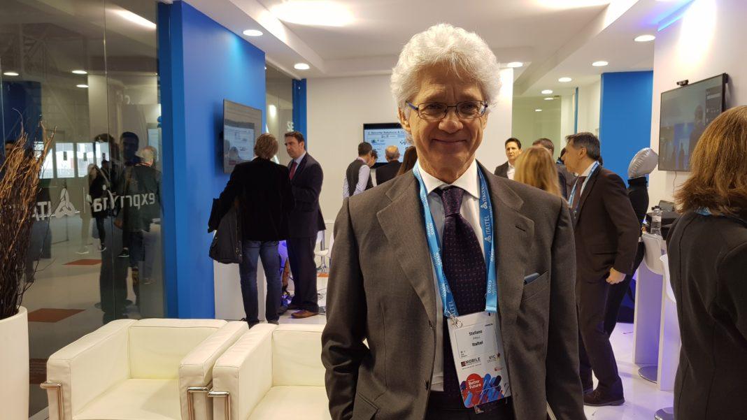 Stefano Pileri, CEO di Italtel al Mobile World Congress 2018