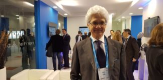 Stefano Pileri, CEO di Italtel al Mobile World Congress 2018