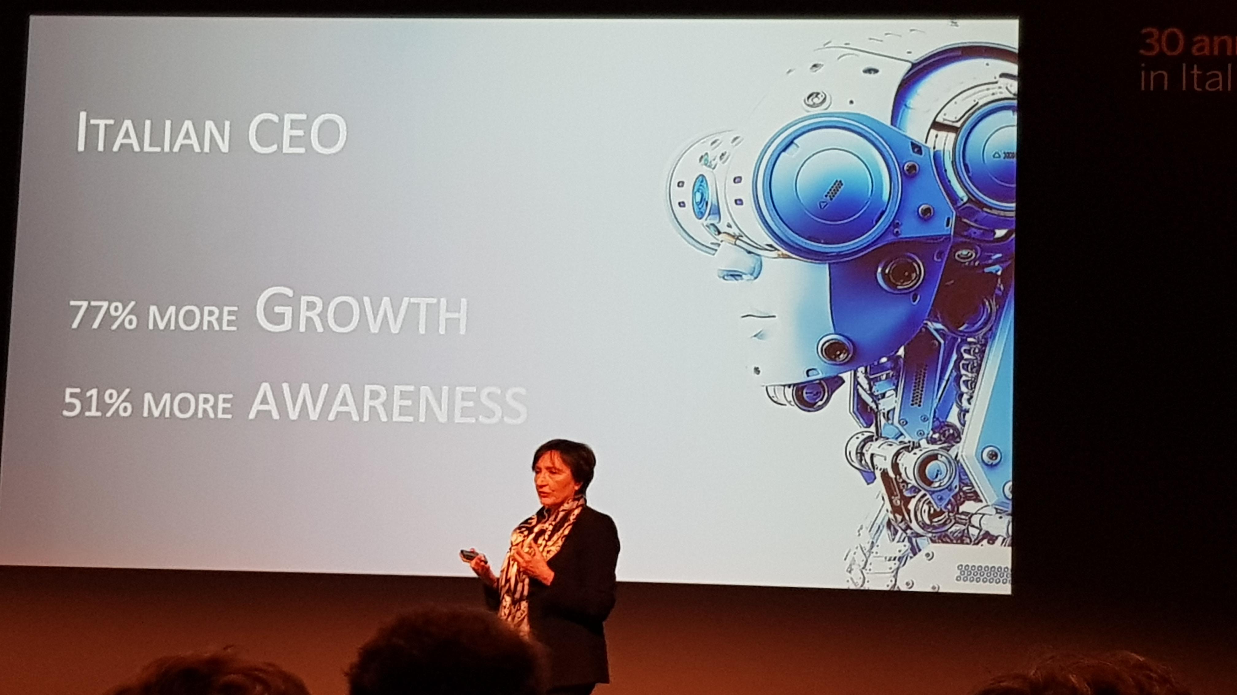 SAP Executive Summit - Luisa Arienti, Amministratore Delegato di SAP Italia