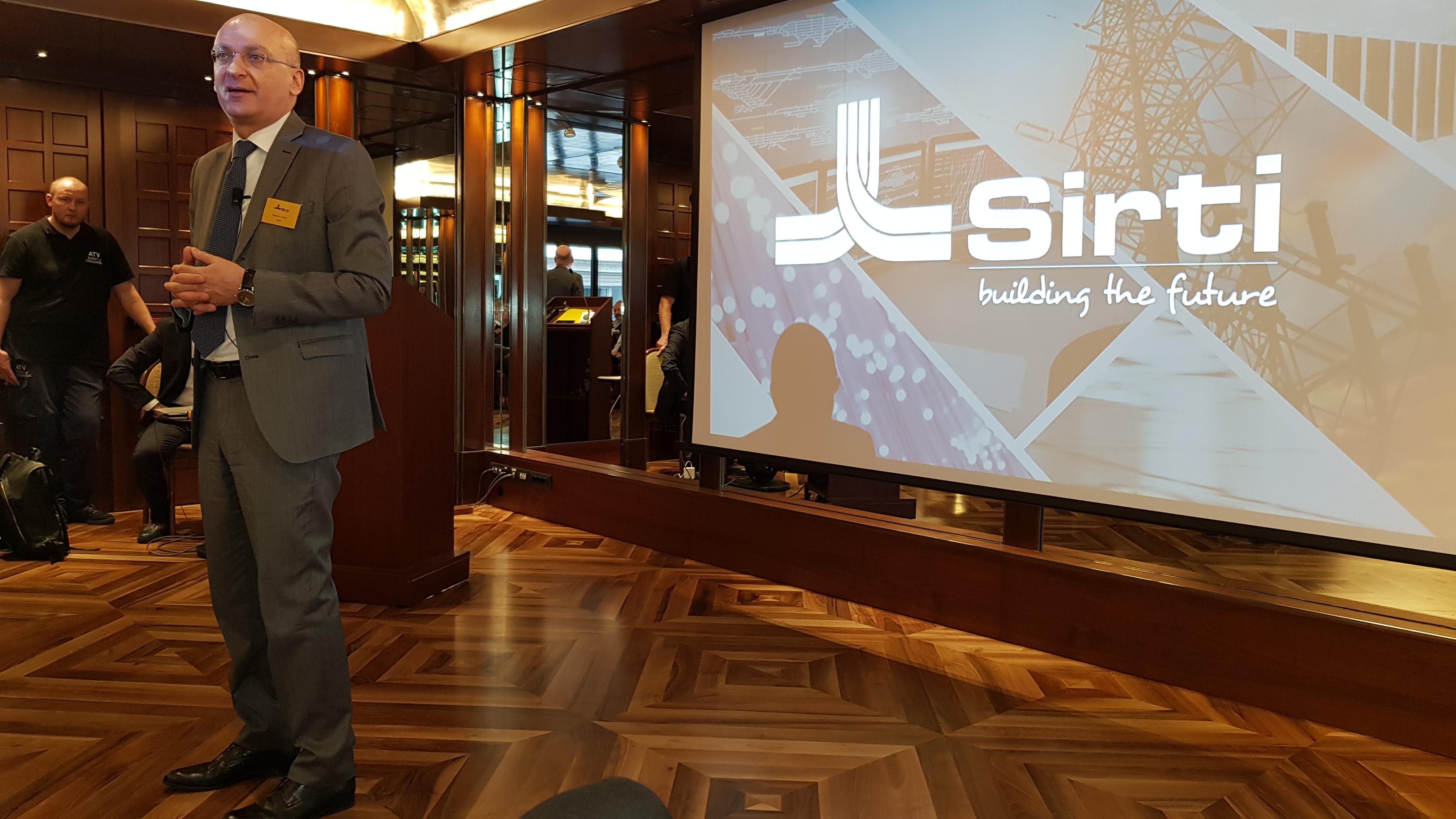 Roberto Loiola, CEO di Sirti