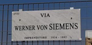 Via Werner Von Siemens a Milano