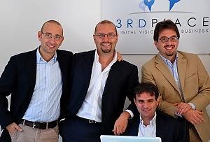 Mauro Arte, Fabrizio Milano d'Aragona, Pierluigi Vacca, Claudio Zamboni, co-founder 3rdplace