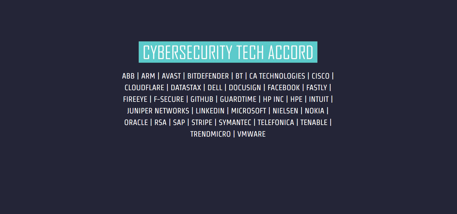 Cyber Security Tech Accord