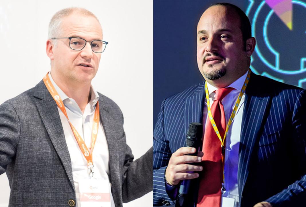 Paolo Spreafico, Head of Customer Engineering Italy & Iberia Google Cloud e Alessandro Passoni, Head of Sales SAP Cloud Platform, SAP EMEA South