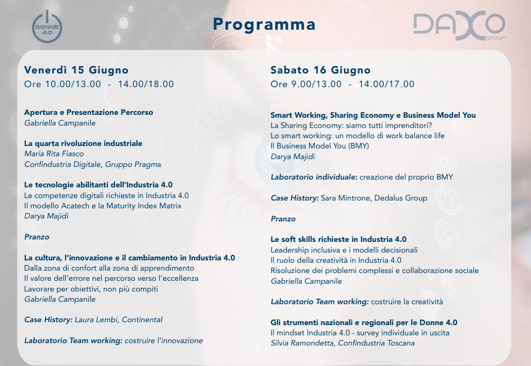 Daxo - Programma