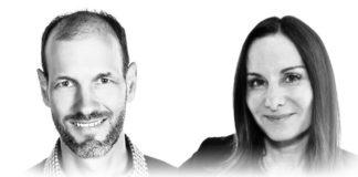 Ruston Panabaker, vice presidente IoT Solutions di Microsoft e Mimi Spier, vice presidente di IoT Business di VMware