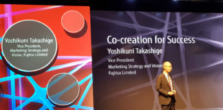 Fujitsu World Tour - Yoshikuni Takashige, Vice President, Marketing Strategy and Vision di Fujitsu Limited