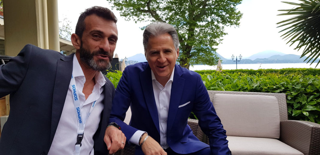Fabio Buccigrossi, channel director di Sophos Italy e Marco D'Elia, country manager - Sophos Discover - Partner Conference 2018