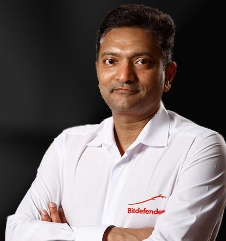 Hariash Agastya, vp of enterprise solutions di Bitdefender