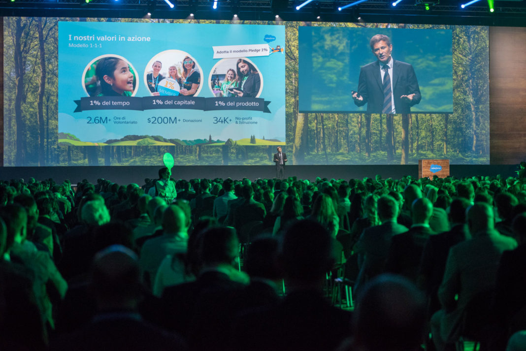 Salesforce Basecamp Milano - Federico Della Casa, Country Leader di Salesforce Italia
