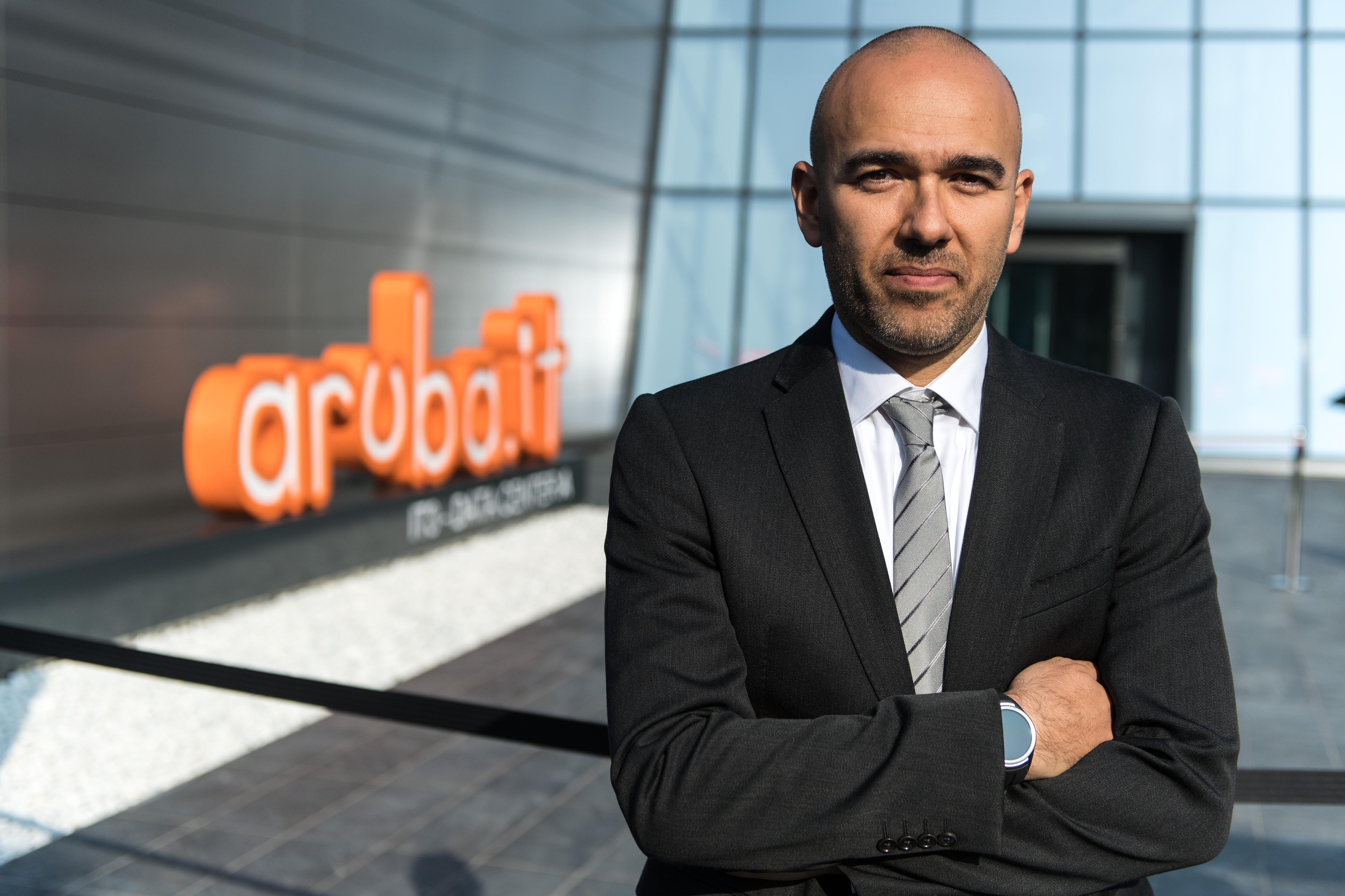 Stefano Cecconi, amministratore delegato, Aruba