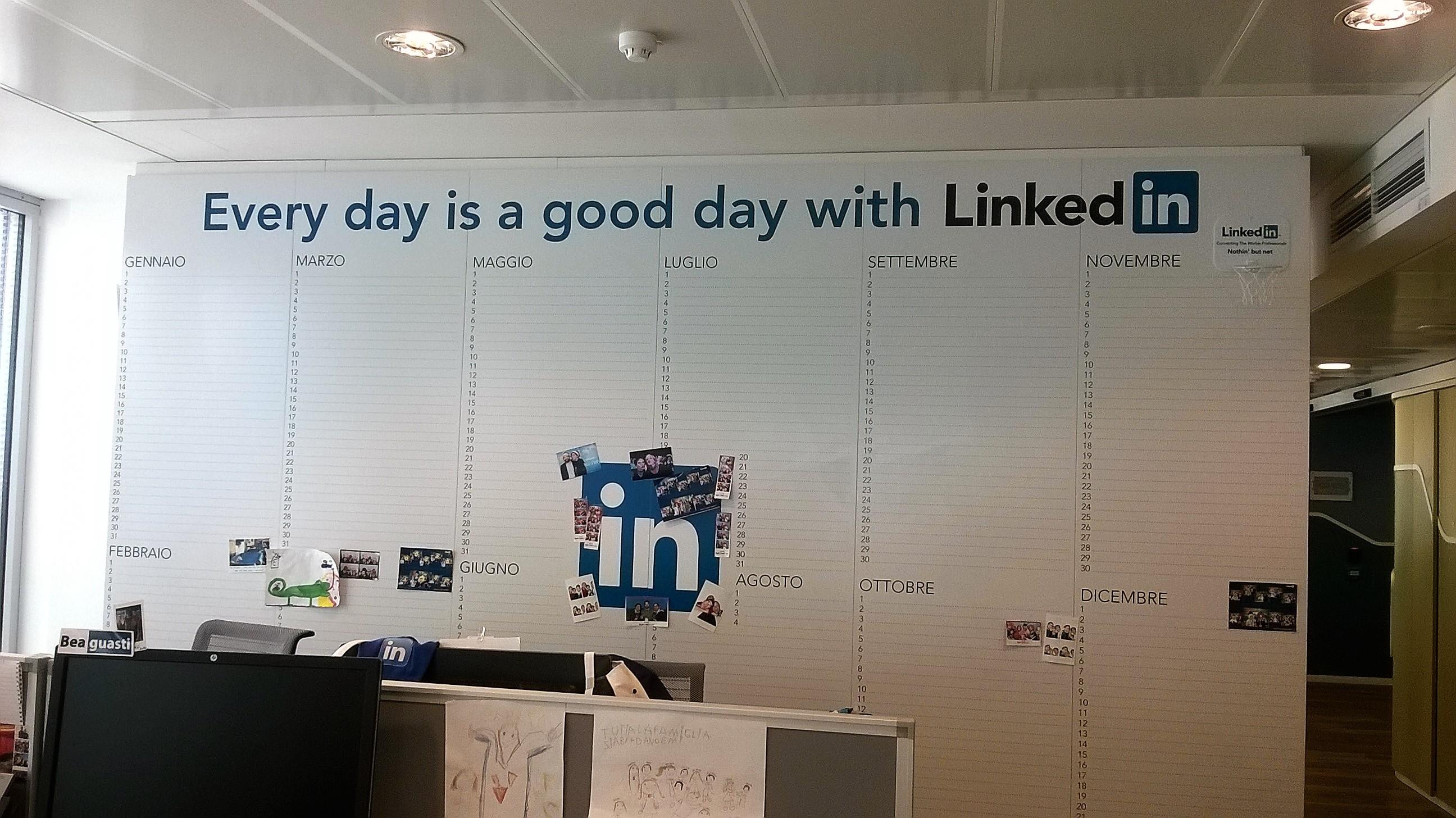 Linkedin - sede di Milano