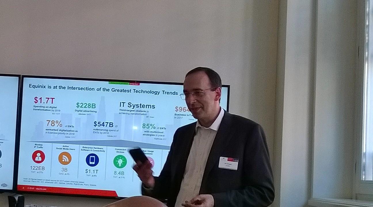 Eric Schwartz, president, Equinix EMEA
