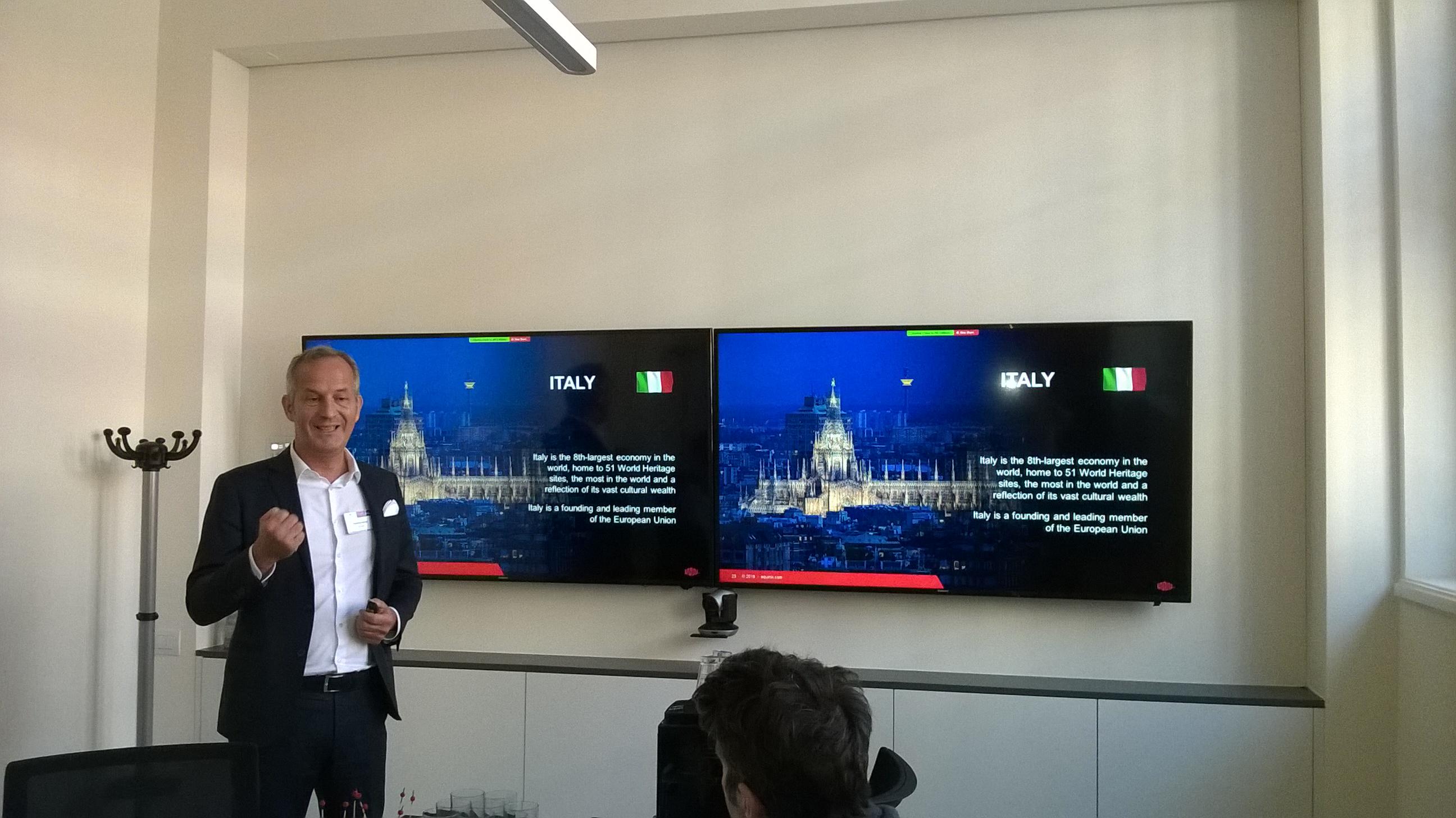 Emmanuel Becker, Managing Director Italy, Equinix