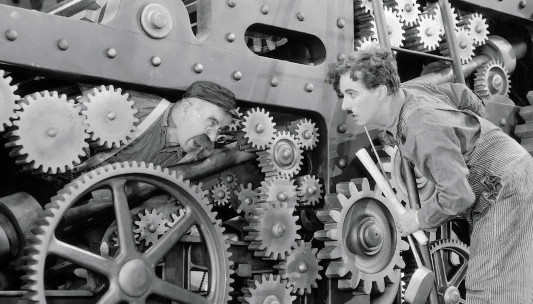 Charlie Chaplin - Tempi Moderni