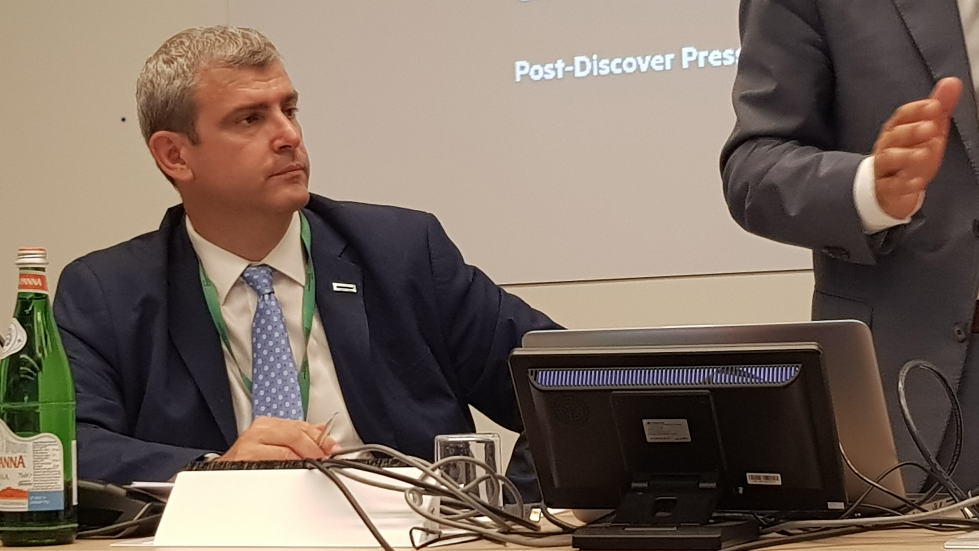 Paolo Delgrosso, Channel, Alliance, OEM & SP Sales Director Manager di Hewlett Packard Enterprise