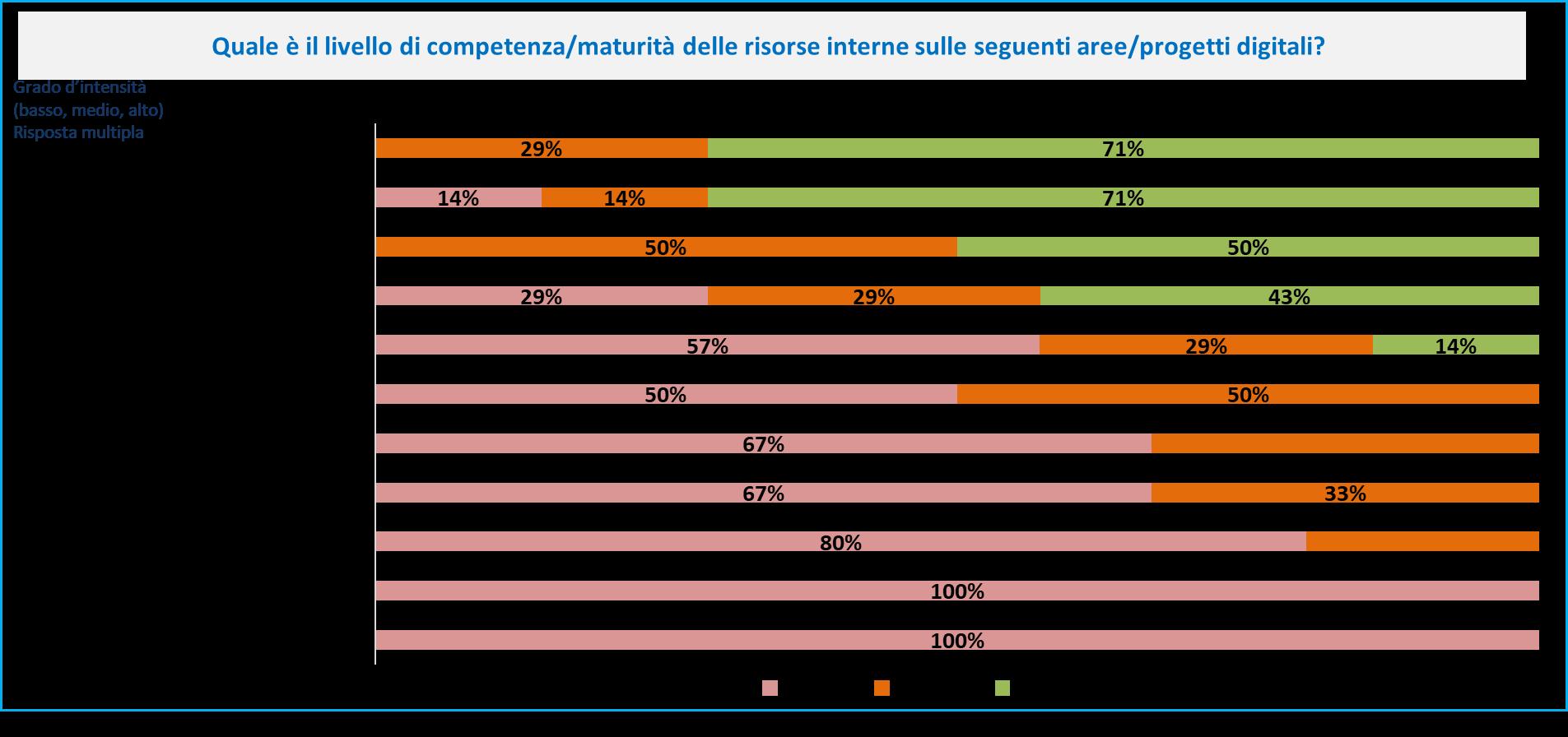 CIO Survey - Maturità risorse Banche
