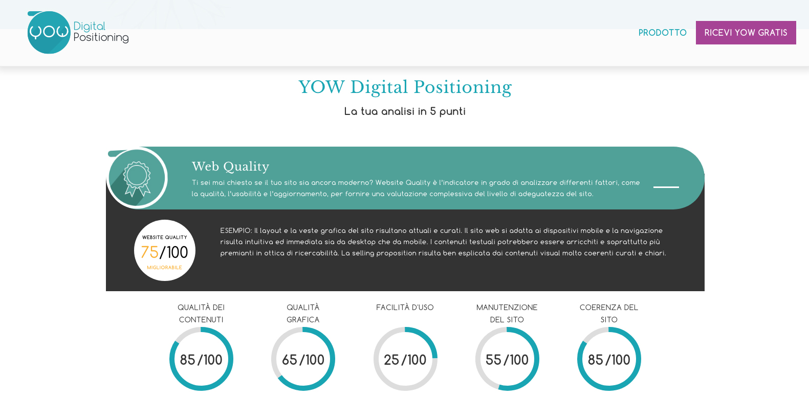 YOW Digital Positioning