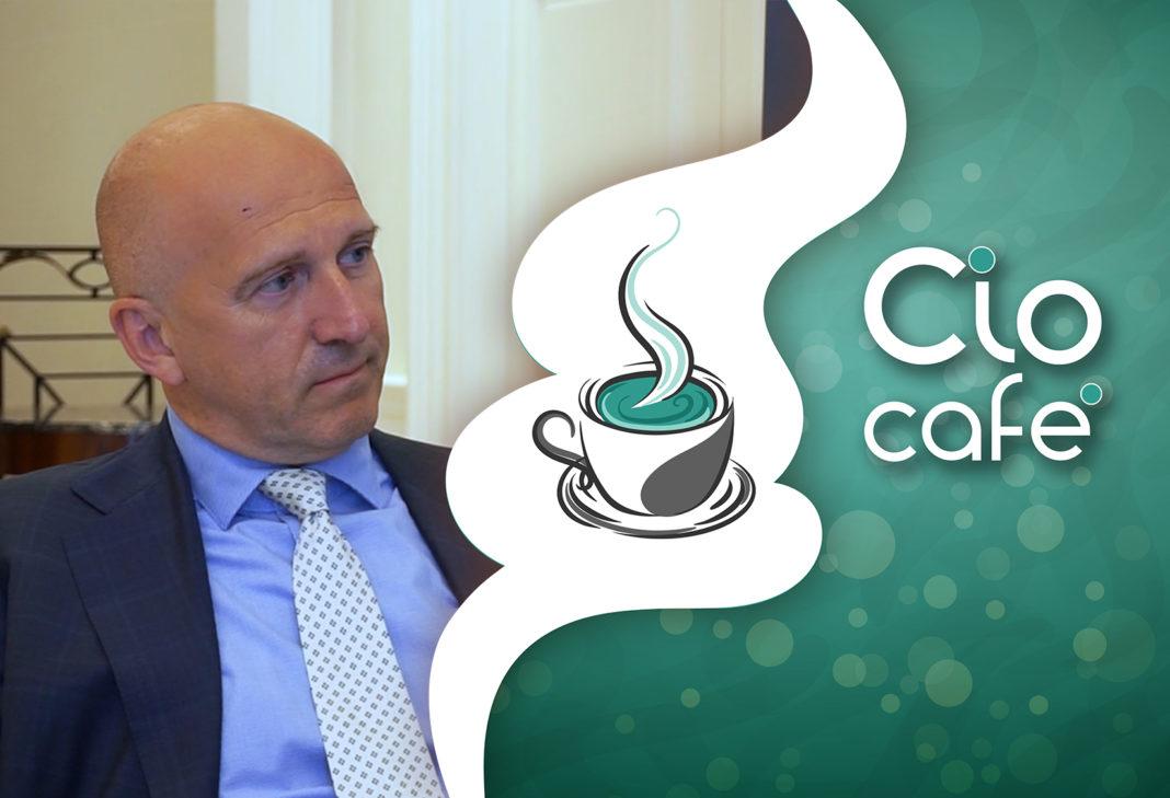 Gian Piero Pepino, CIO del Gruppo De Agostini al Cio Cafè