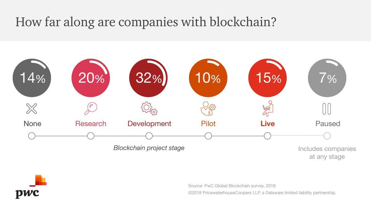PwC Blockchain - fase progetti