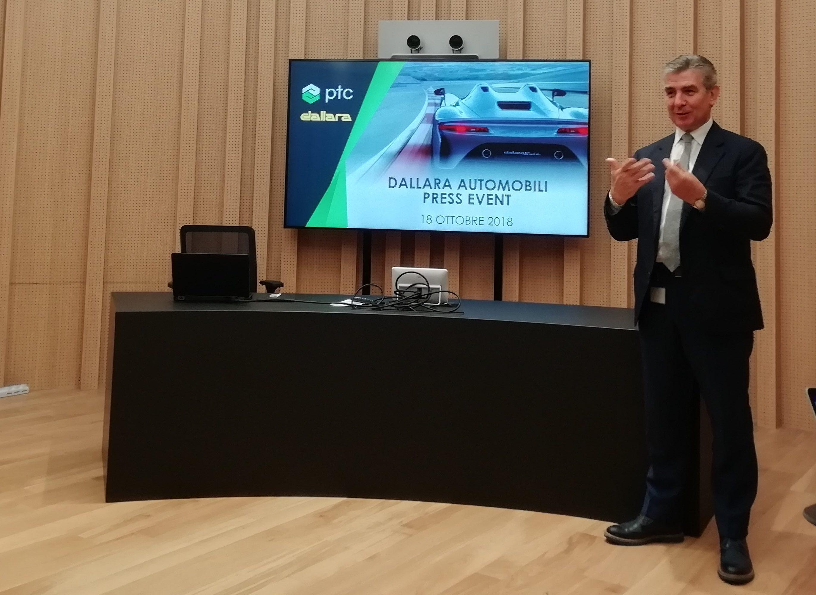 Andra Pontemoli, CEO & General Manager di Dallara Automobili