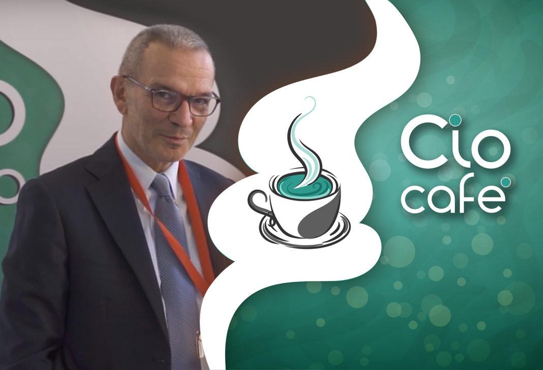Claudio Caccia, Presidente Onorario AISIS e CIO Gruppo KOS al CIO Cafè